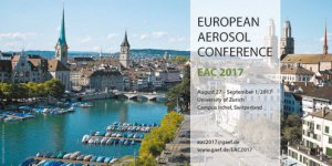 Researchers of aerosol technologies laboratory at NSTU take part in the International Conference EAC-2017